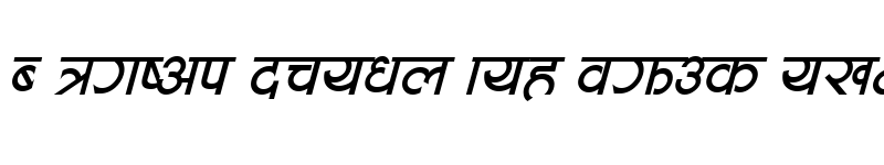 Preview of Aakriti Italic