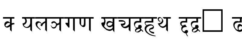 Preview of Fontasy Himali Regular