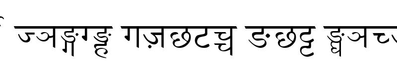 Preview of Gorkhali Nepali Regular