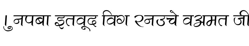 Preview of Kruti Dev 500 Regular