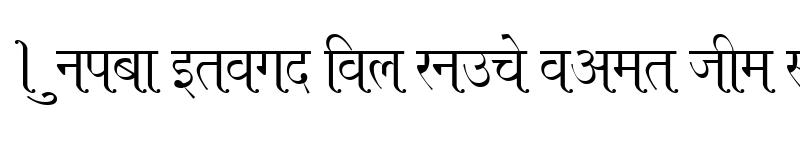 Preview of Kruti Dev 660 Normal