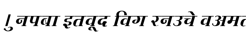 Preview of Kruti Dev 730 Normal