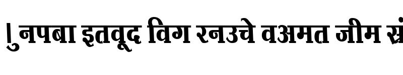 Preview of Kruti Dev 734 Normal