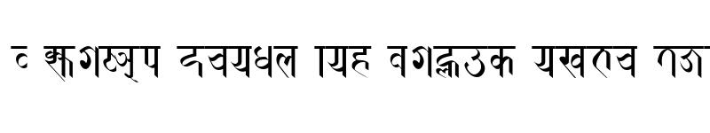 Preview of Prachalit Regular
