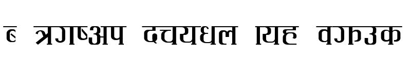 Preview of Sarashoti Regular