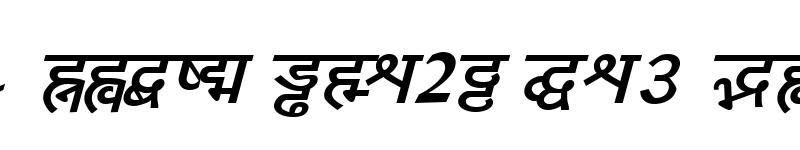 Preview of Yogeshweb Bold Italic