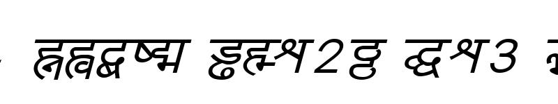 Preview of Yogeshweb Italic
